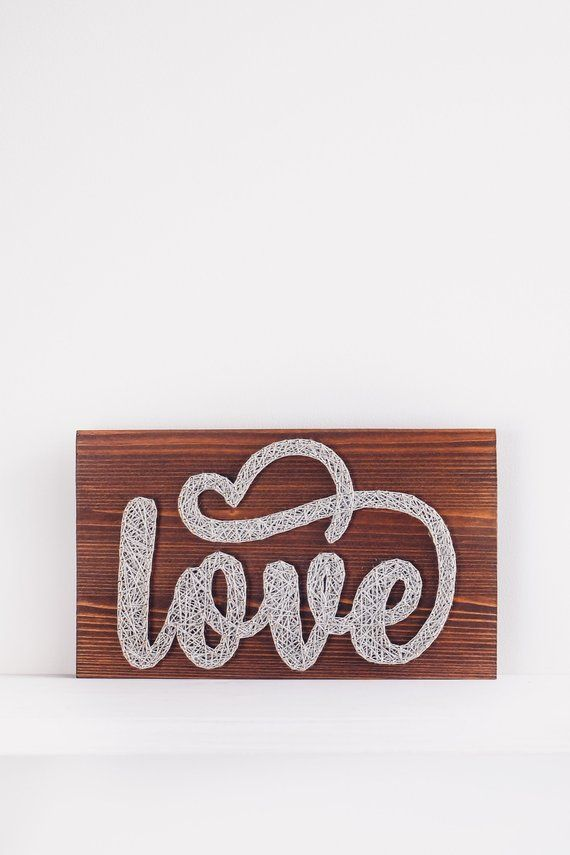 Love Sign Love Wood Sign Small Love Sign Rustic Love Sign Wooden Love Sign Home Decor Gift For Someone You Love Valentine S Day Decor Love Wood Sign Wood Signs Love Signs