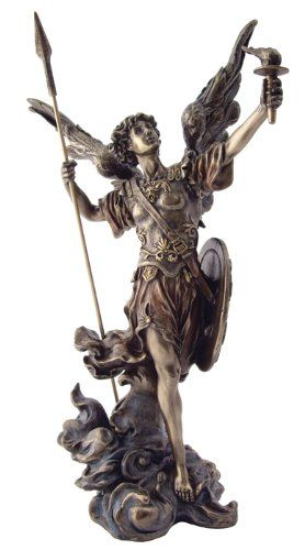 Archangel St Uriel Statue - Archangel of Salvation - Healer of Humanity - One of the Seven Archangels Top Collection http://www.amazon.com/dp/B0086XIOQK/ref=cm_sw_r_pi_dp_8NWVtb0KQ5EVAA17