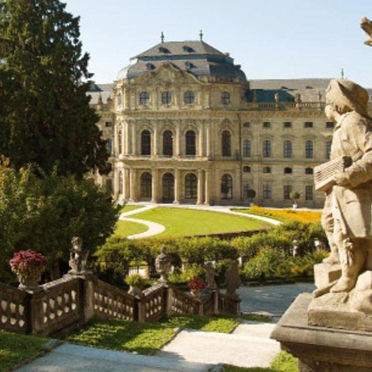 Würzburger Residenz und Hofgarten ©CTW Würzburg