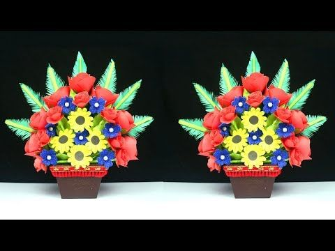Diy Simple Home Decoration With Paper Crafts Paper Easy Art