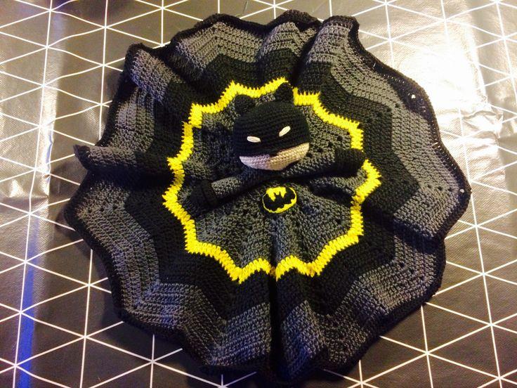 Batman lovey / security blanket