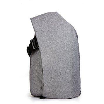 KALIDI 15 Zoll Notebooktasche Laptop-Tasche Rücksack Passend für bis zu 15 Zoll Laptops Dunkelgrau