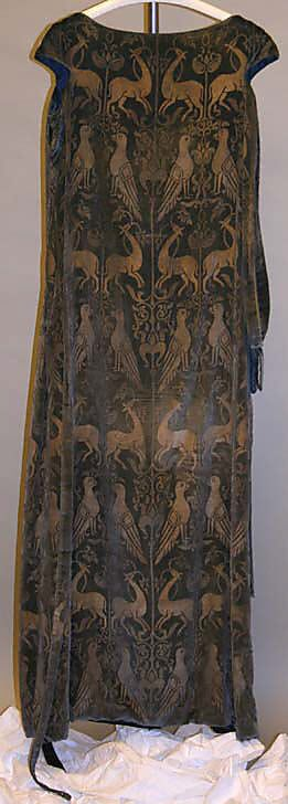 Evening dress, 1924. Maria Gallenga  (Italian, Rome 1880–1944 Umbria)