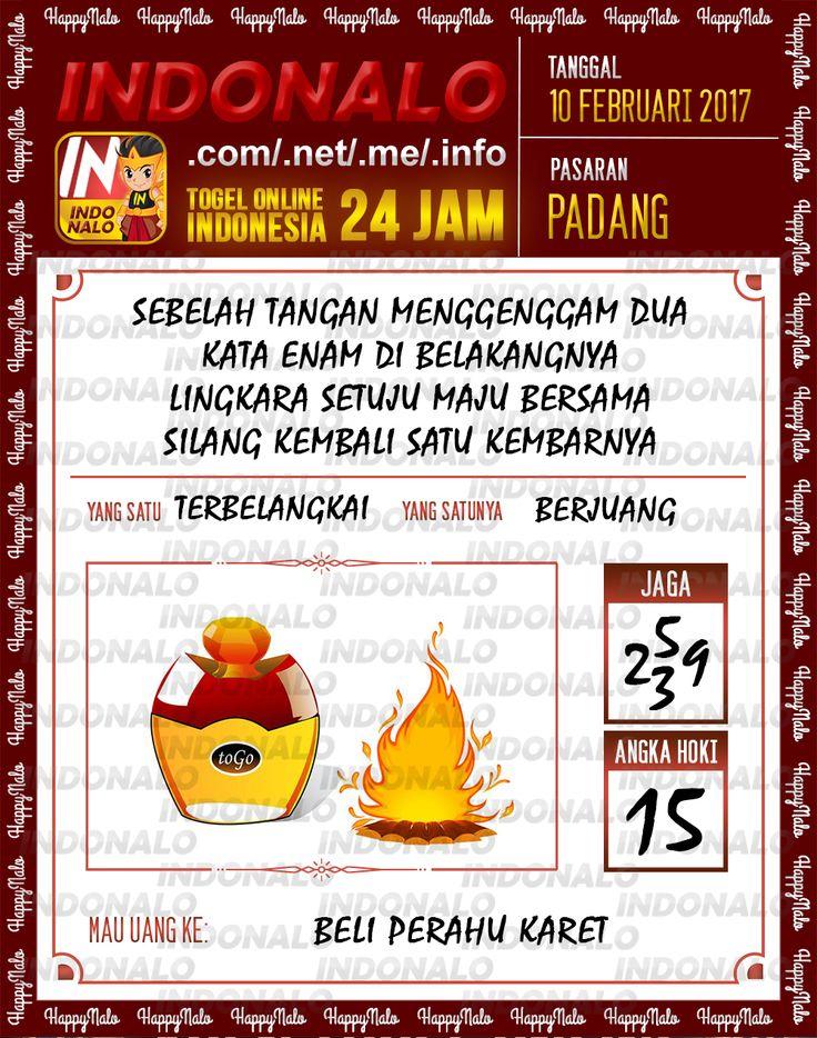 Angka Taysen 6D Togel Wap Online Live Draw 4D Indonalo Padang 10 Februari 2017