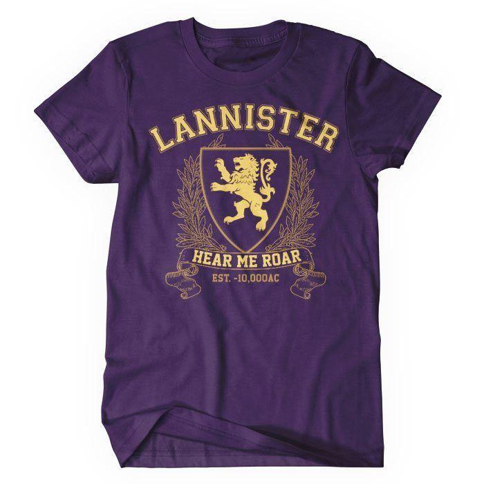 Lannister University (Gold) - Women's T-Shirt
