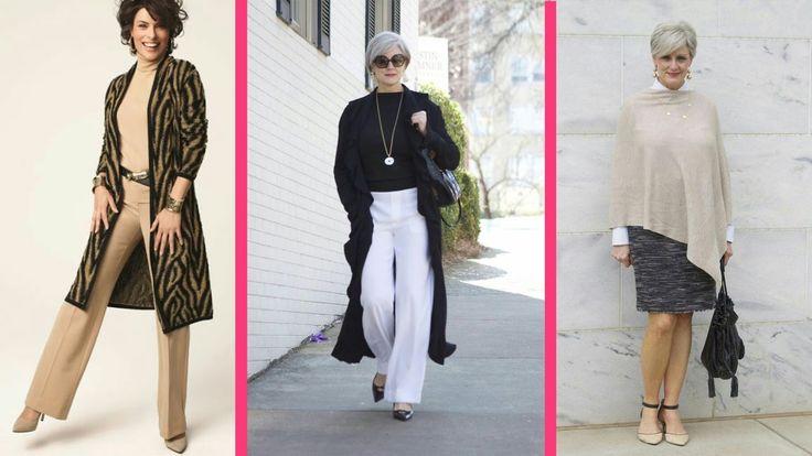 Ropa Moderna Mujeres de 50 Años 60 Años 2017
