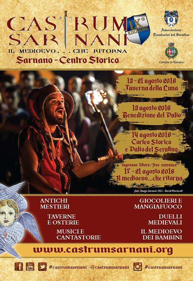 Italia Medievale: Castrum Sarnani 2016