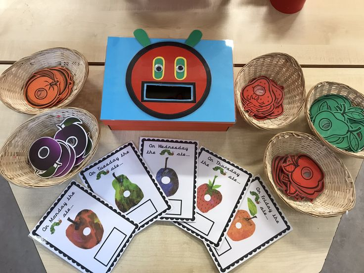 EYFS Maths Game - The very hungry caterpillar game - Matching number and quantity