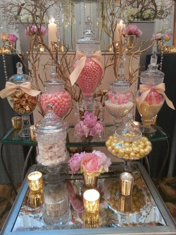 Candy Vixen Custom Candy Bar Buffets together