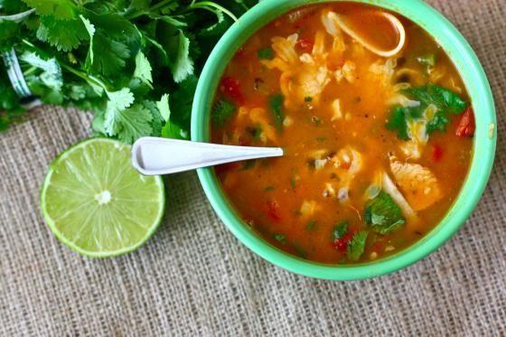 Amazing chicken tortilla soup