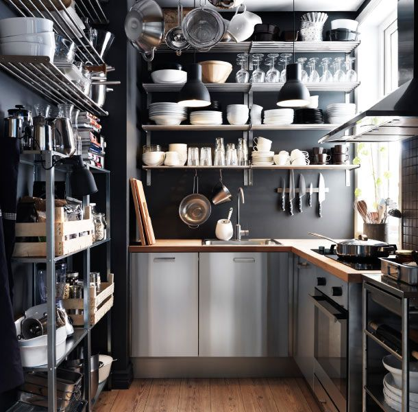12 Great Small Kitchen Designs