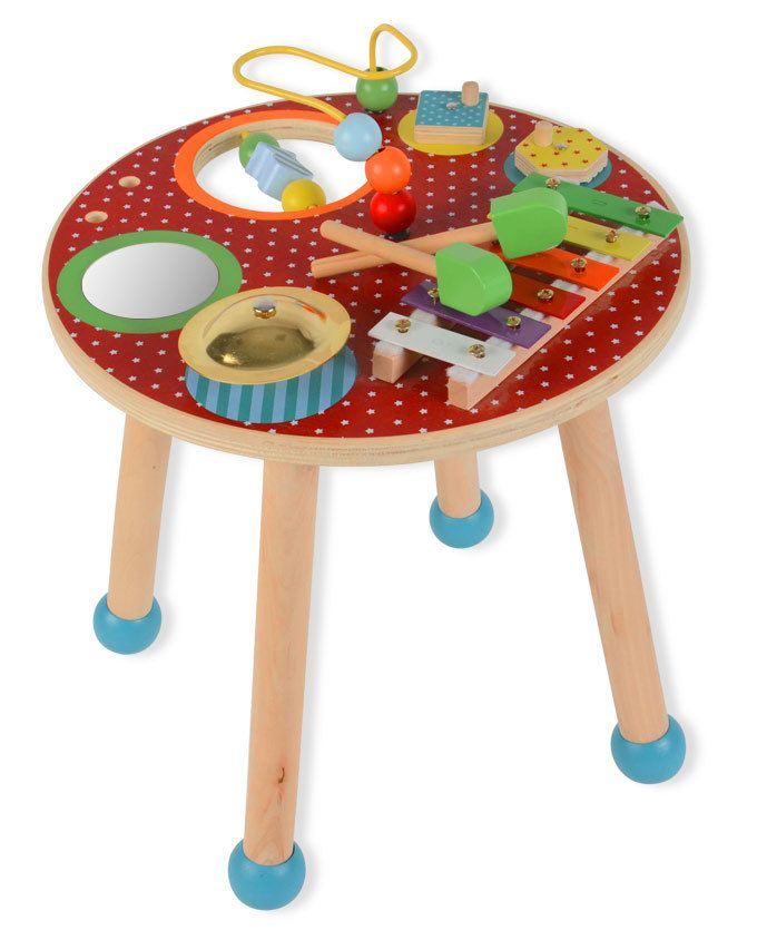 Prenatal houten muziektafel #prenatal #cadeau