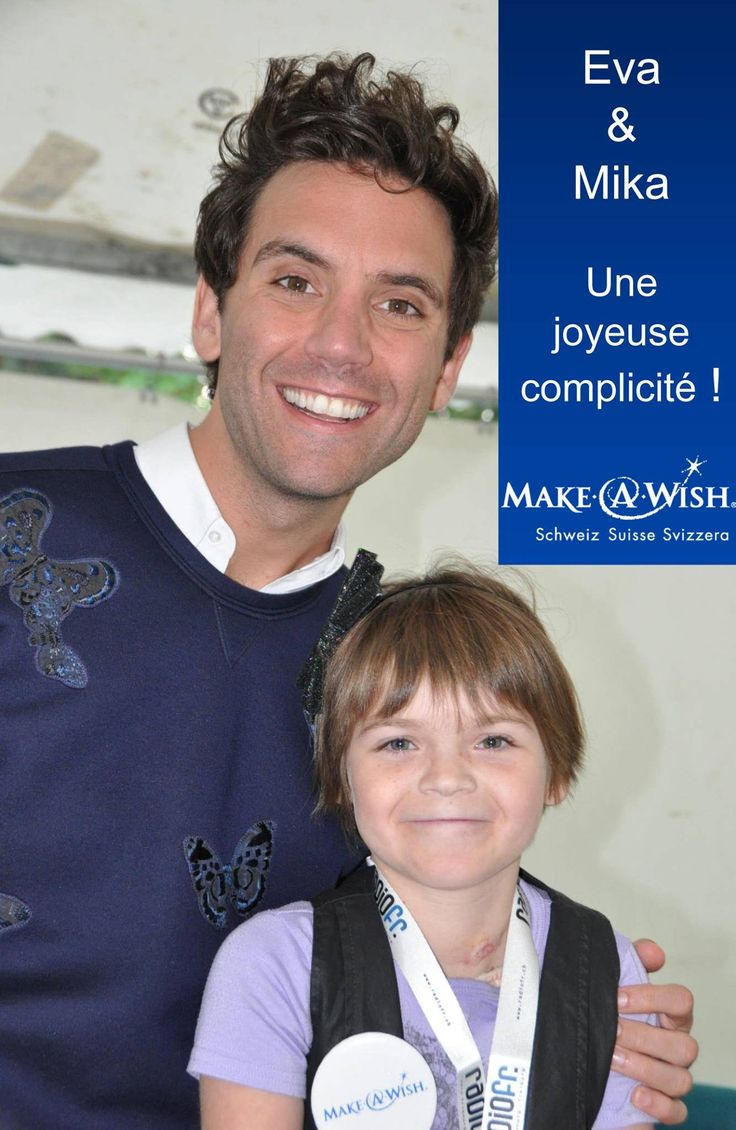 Mika for Make-a-wish