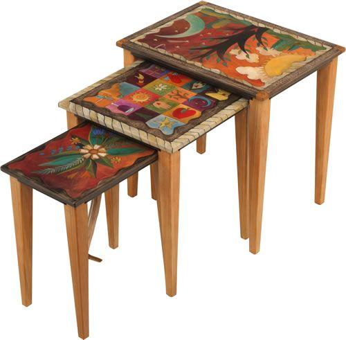 Fun Nesting Tables by Sticks.com