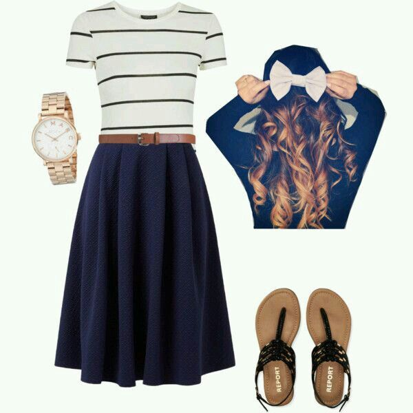 Cute for church during summer
