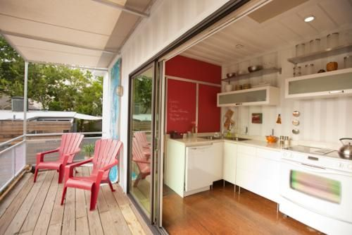 Studio kitchen/patio
