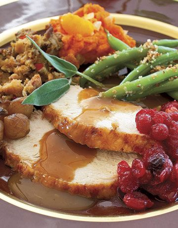 Oven Roasted Turkey Dinner - Christmas Recipes / Lee County Virginia CountryTime