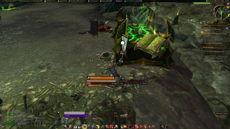 I Found a New Prot Warrior Hidden Artifact Skin in Suramar... #worldofwarcraft #blizzard #Hearthstone #wow #Warcraft #BlizzardCS #gaming