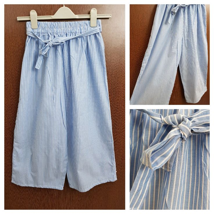 Hurry before stock runs out: Culottes - Thin W..., visit http://ftfy.bargains/products/culottes-thin-white-stripes-on-blue?utm_campaign=social_autopilot&utm_source=pin&utm_medium=pin  #amazing #affordable #fashion #stylish