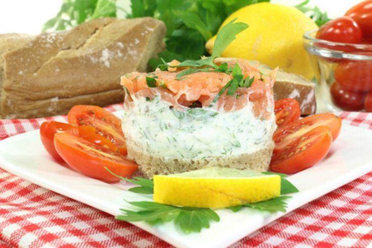 Das Lachs-Tatar eignet sich wunderbar als Aufstrich oder Dip. Ein beliebtes Rezept für das kalte Buffet.