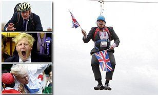 Boris Johnson's the zip-lining American-born eccentric who might become Britain's next PM | Daily Mail Online