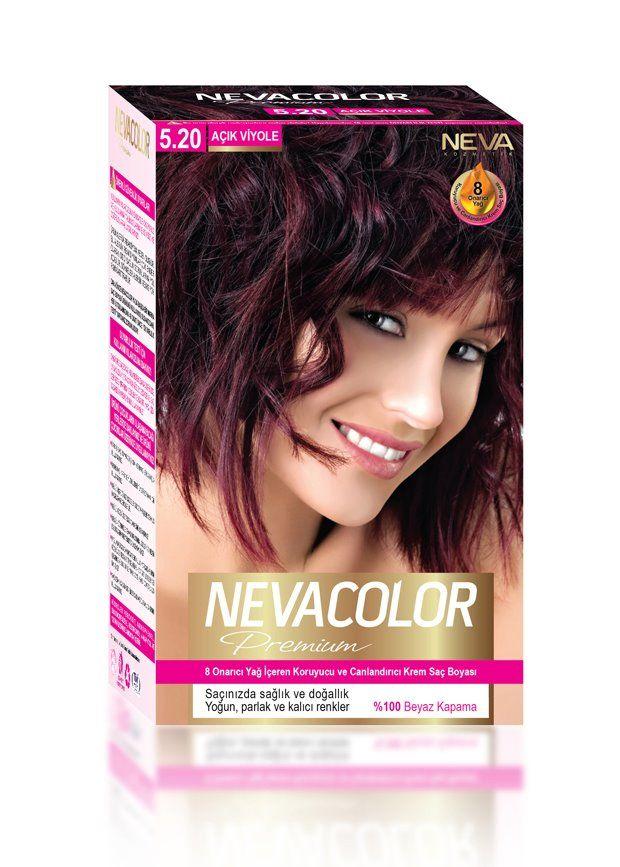 Nevacolor Premium Sac Boyasi 5 20 Acik Viyole Sac Sac Boyasi
