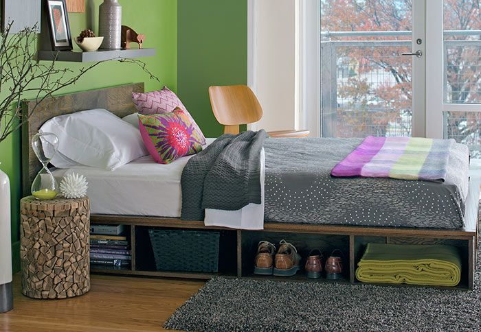 Bursting at the seams in your small bedroom? Check out these 9 storage ideas to create an organized oasis in no time.