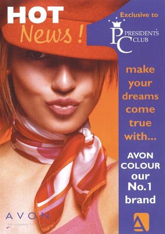 Brochure Design - Avon. Designed by Tea House Creative Marketing www.teahousemarketing.biz