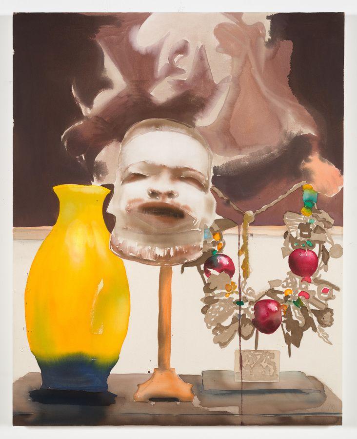 Liz Marcus Yellow Vase (Enjoy The Silence)