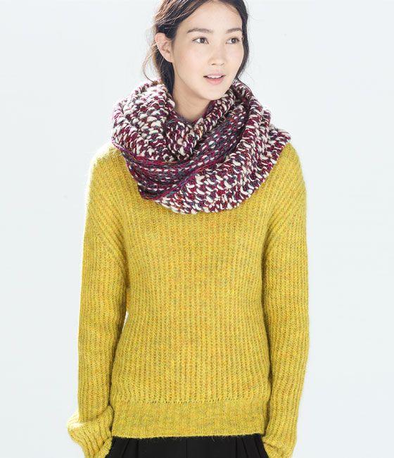 Oversized Merino Wool Scarf - Shopping Spree by VIDA VIDA 28pFK5