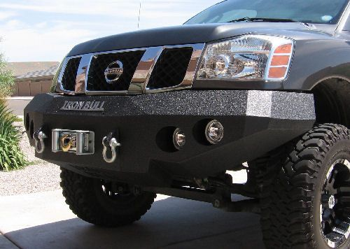 Iron Bull Front Bumper Nissan 2004 12 Titan Amp 2004 09 Armada Nissan Frontier Xterra And