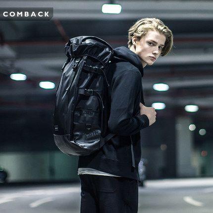 Бренд COMBACK тые черные души отдых велосипедные прогулки рюкзак мужской молодежный спорт на открытом воздухе большой емкости рюкзаки