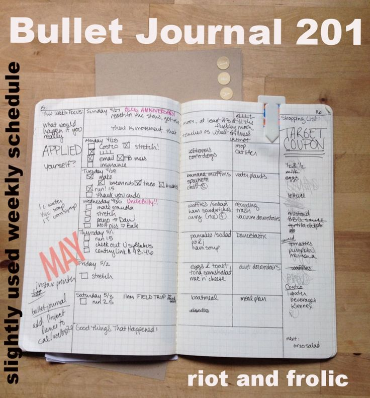Bullet Journal - Blog also includes a link to a simple tutorial for bullet journaling.
