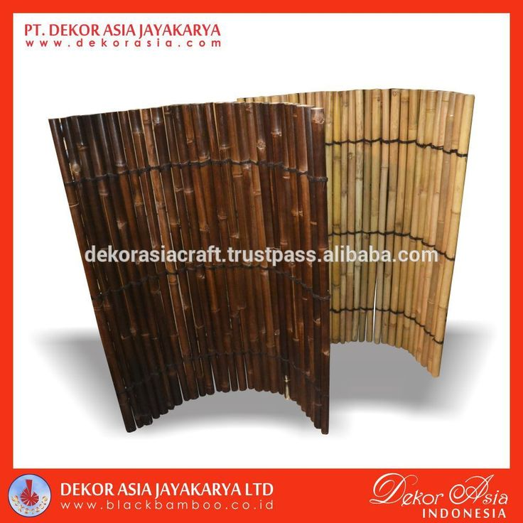 Bamboo Fence About PT Dekor Asia Jayakarya Dekorasia.com is a design and export-company and serves as an internet medium for the business-to-business community and inquiries related to high volume black bamboo product and other garden accessories, Pandanus Grass and also Other Nature Fibers and general craft products - handicrafts made in our industry in Java from natural and sustainable resources found in abundance in Indonesia. We supply small, medium and Large Company Such as IKEA.