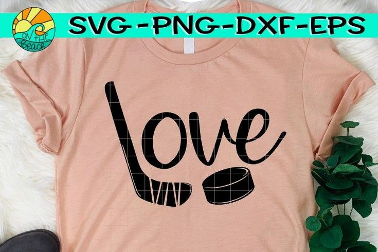 Download LOVE - Hockey - SVG - PNG - EPS - DXF (465630) | SVGs ...