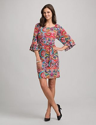 Multicolor Paisley Dress from dressbarn...came the other day...SO CUTE!!!!
