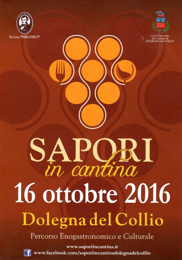"""#VillaParens e """"Sapori in Cantina"""", tra profumi, calici e tradizioni nel piatto. Domenica 16 Ottobre a Ruttars http://bit.ly/2dmD4ct"""