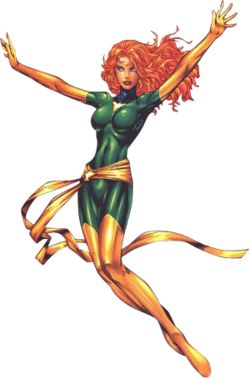 Jean Grey is an Omega-level mutant, and at her highest and strongest potential was bonded with the Phoenix Force.