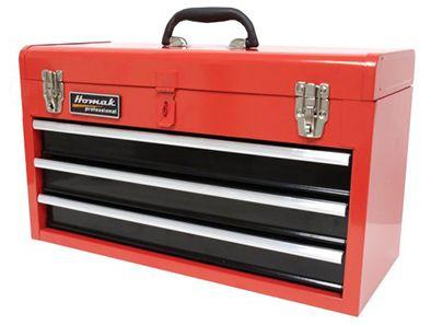 "Auction Homak 20"" 3-Drawer Tool Box"