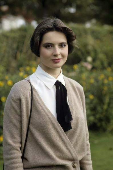 Isabella Rossellini. Elegance comes from simplicity, beauty comes from kindness...