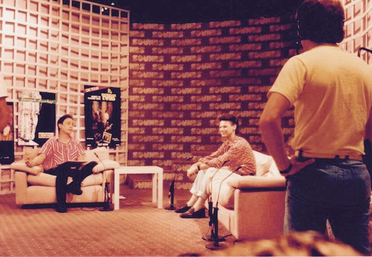 Brian Canham on Sounds with Donnie Sutherland  (80s music television program)