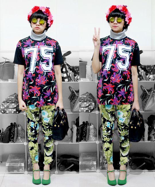 Diana Rikasari - Baseball Outfit