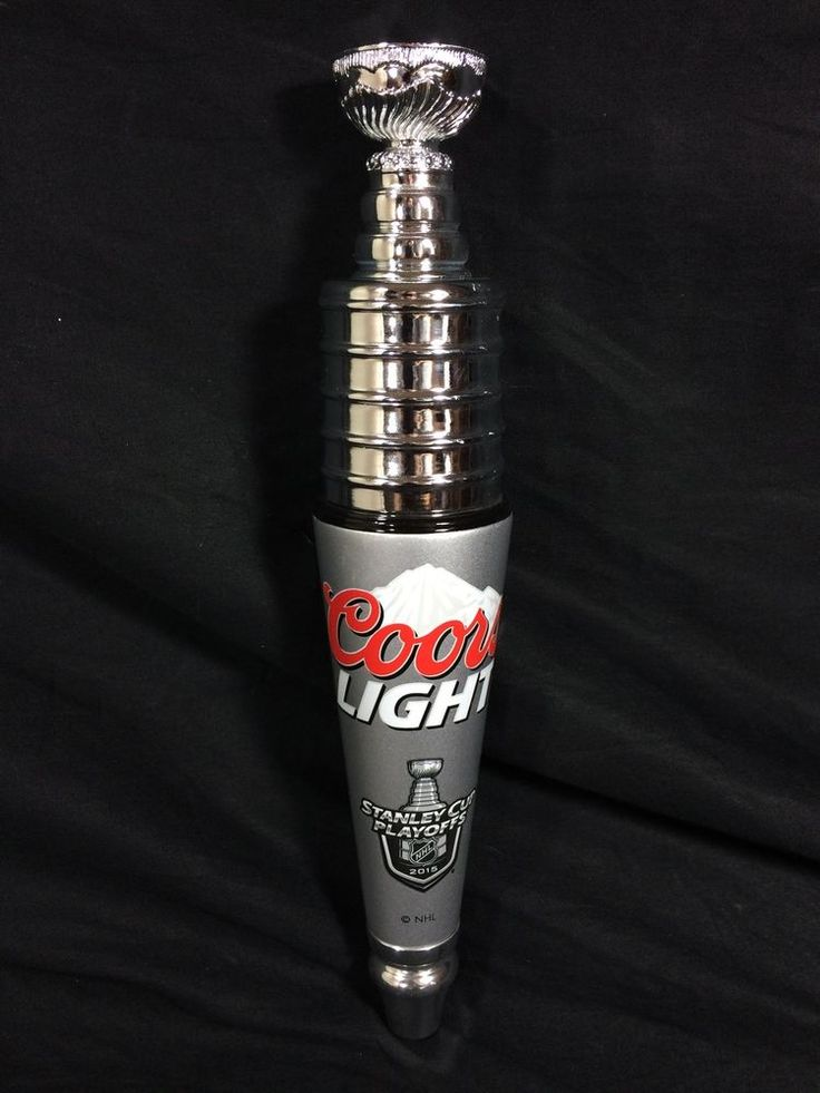 #CoorsLight Beer Tap Handle #StanleyCup NHL #Hockey Playoffs Bar Man Cave Keg #keg #beer #beertap #taphandle #mancave #bar #tiki #tikibar #pub #breweriana #mantiques