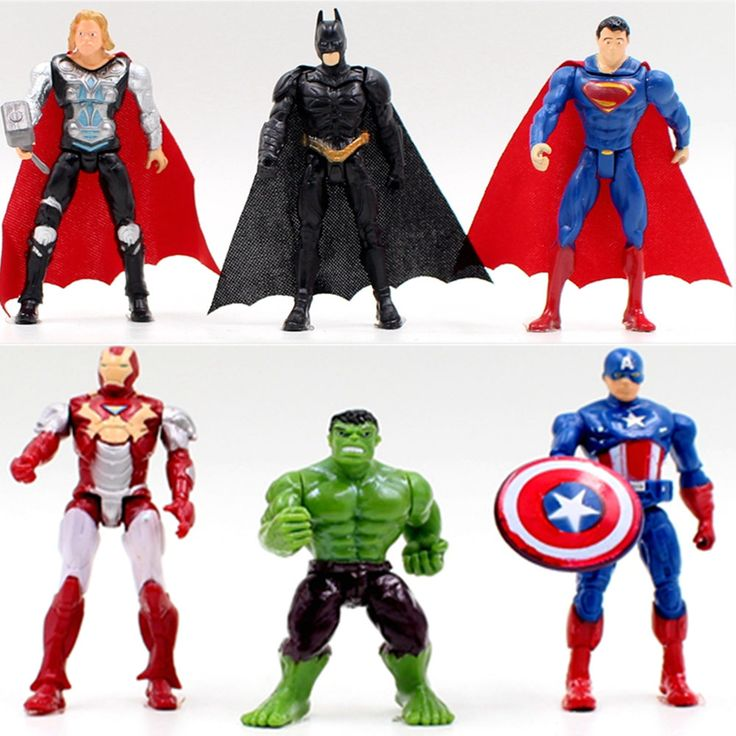 Superhero action figures  $13.9 and FREE shipping  Get it here --> https://www.herouni.com/product/the-avengers-superhero-figures-toy-doll-baby-hulk-captain-america-superman-batman-thor-iron-man-free-shipping/  #superhero #geek #geekculture #marvel #dccomics #superman #batman #spiderman #ironman #deadpool #memes