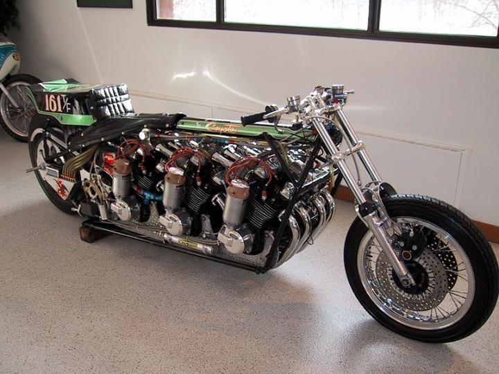 AMA Kawasaki Drag Bike. Beautiful!