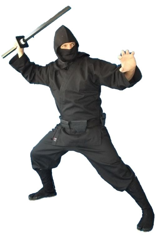 Black Modern #ninja Uniform and outfit