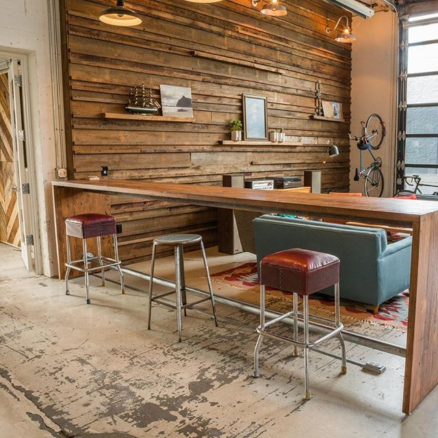 Salvage Works Material Being Used By Akos Construction. Perfect Blend Of  Modern Lines And Reclaimed. Reclaimed Wood WallsBeing UsedPortland ...
