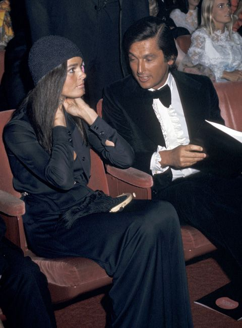 Ali MacGraw and Robert Evans at the 43rd Annual Academy Awards