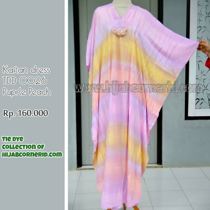 Tiedye kaftan, new collection fr hijabcornerid