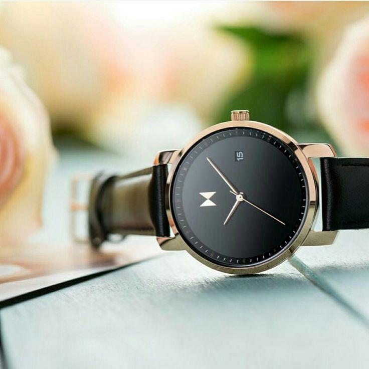 MVMT Gold Black is a beauty. From www.watchfelt.dk #mvmt